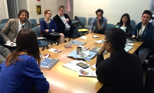 We met Saturday morning in a hotel conference room and discussed the challenge of sustainability and other topics.