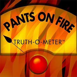 PolitiFact Pants on Fire