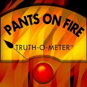 PolitiFact Pants on Fire